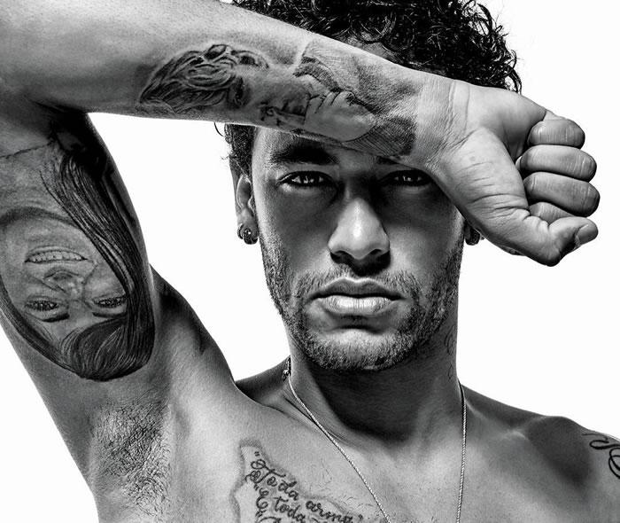 neymar tatuagens
